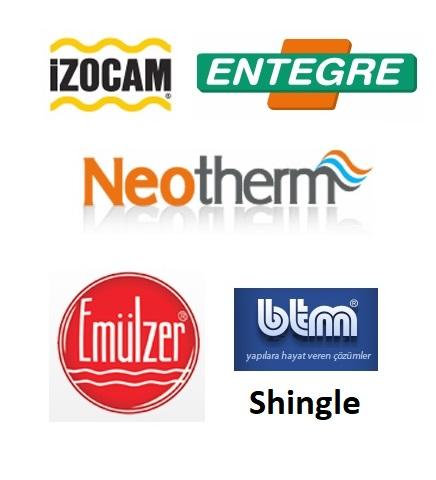 Yalıtım için en iyi markaları satıyoruz ve uyguluyoruz.